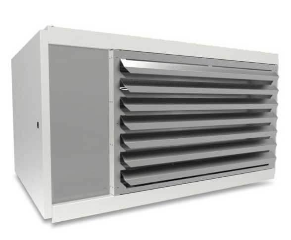 Generatore aira calda da parete per capannone